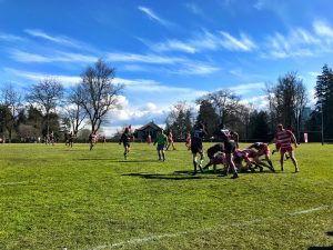 Rowers 2nds Beat Brit Lions at Brockton to go 14-0