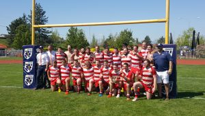 Rowers 1st Div Annihilates Bayside in Final 42-6, Are Provincial Champs