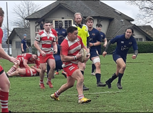 Rowers Reserves beat James Bay 33-15 at Home