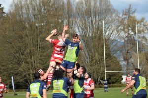 Rowers 3rds beat 'Lomas, 17-13 at home